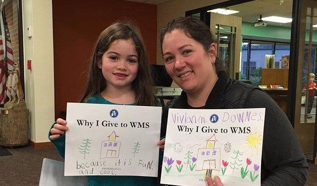 Why I Give to WMS - Mother Daughter