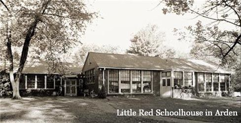 Little Red School House in Arden