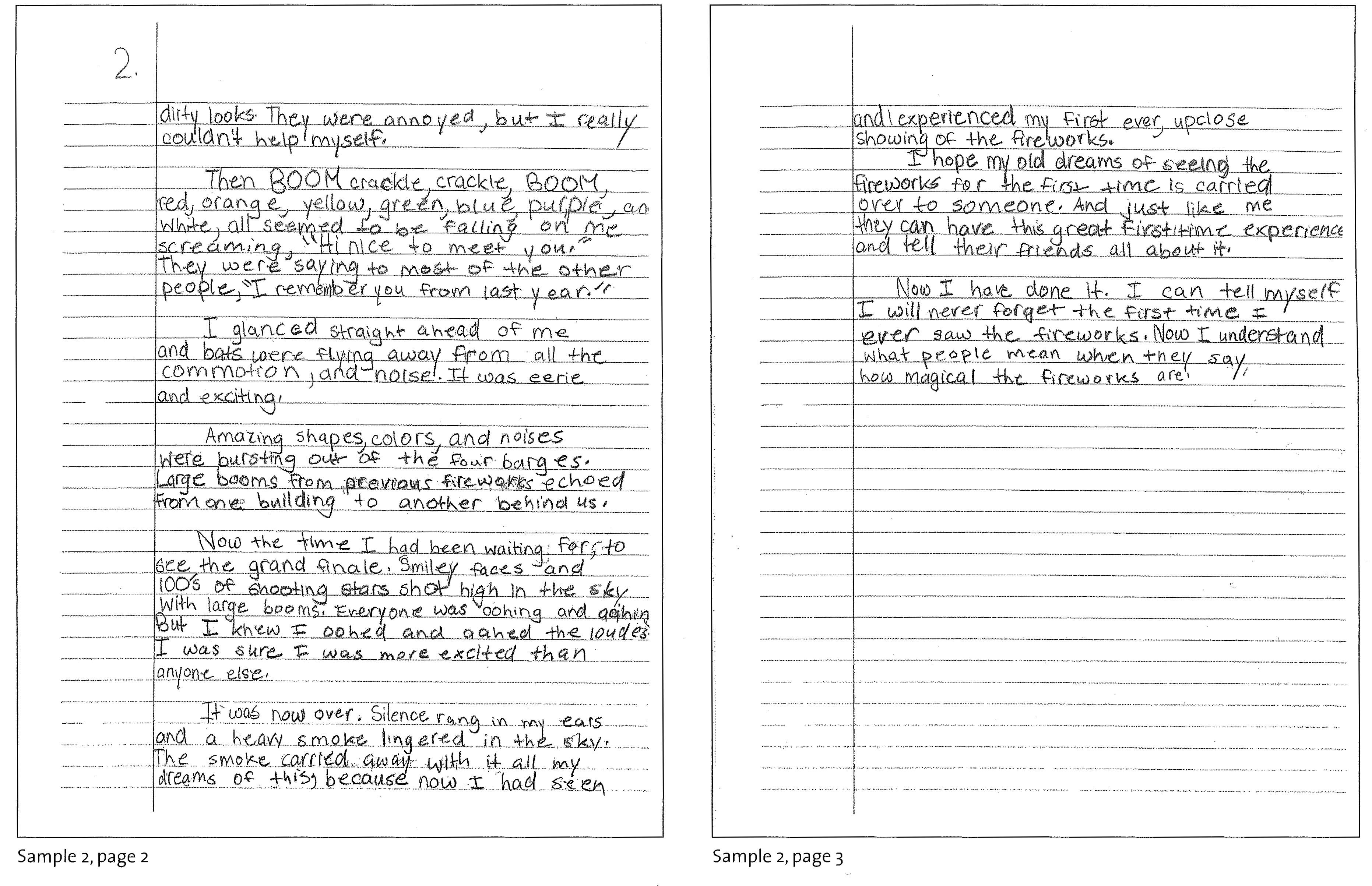 Admission essay writing 6th graders