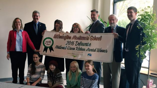 WMS Named 2016 U.S. Department of Education Green Ribbon School